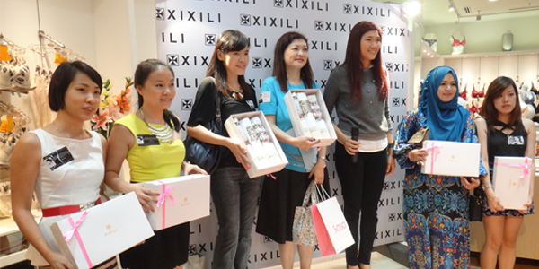 Event: XIXILI Bra Art Launch