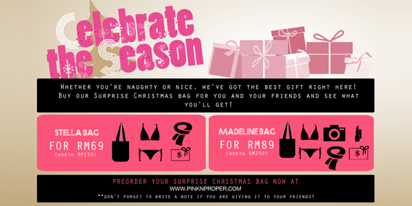 Pink 'n Proper's Surprise Christmas Bags