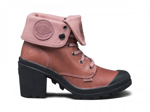 Baggy Heel Leather - Old Rose_1