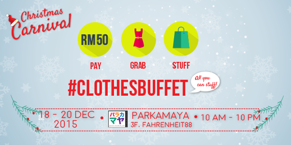 Clothes Buffet 2015